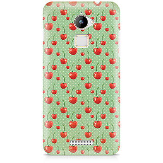 CopyCatz Cherry Overdose Green Premium Printed Case For Coolpad Note 3 Lite