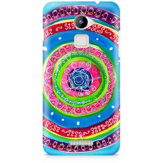 CopyCatz Concentric Circle Doodle Premium Printed Case For Coolpad Note 3 Lite