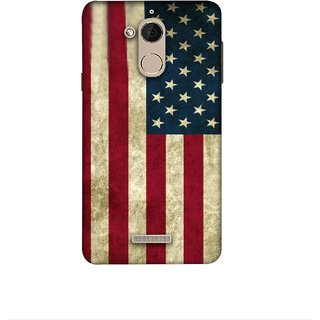 Casotec Vingate USA Flag Design 3D Printed Hard Back Case Cover for Coolpad Note 5