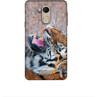 Casotec Tiger Aggression Design 3D Printed Hard Back Case Cover for Coolpad Note 5