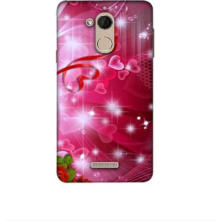 Casotec Love Design 3D Printed Hard Back Case Cover for Coolpad Note 5