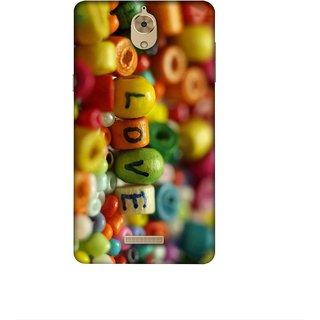 Casotec Colorful Love Design 3D Printed Hard Back Case Cover for Coolpad Mega 2.5D