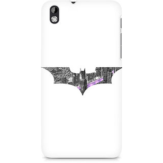 CopyCatz Bat Logo Arkham City Premium Printed Case For HTC Desire 816