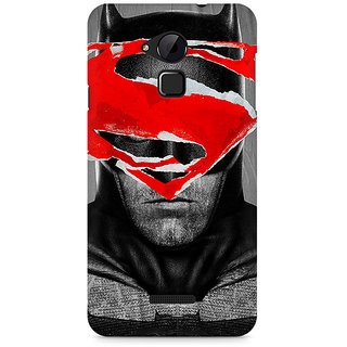 CopyCatz Batman With Superman Logo Premium Printed Case For Coolpad Note 3