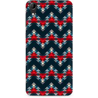 CopyCatz Chevron Abstract Premium Printed Case For HTC Desire 728