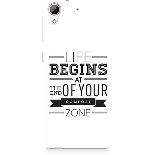 CopyCatz Out of the Comfort Zone Premium Printed Case For HTC 626
