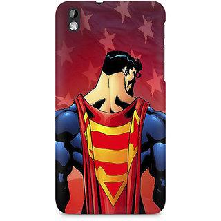 CopyCatz Superman Cape Premium Printed Case For HTC Desire 816