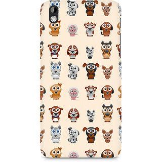 CopyCatz Big Eyes Dog Premium Printed Case For HTC Desire 816