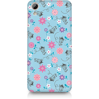 CopyCatz Floral Girly Wall Premium Printed Case For HTC Desire 820