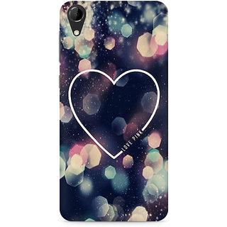 CopyCatz Love Pink Premium Printed Case For HTC Desire 728