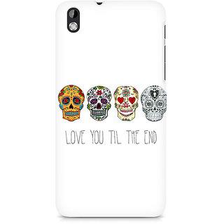 CopyCatz Love till the end Premium Printed Case For HTC Desire 816