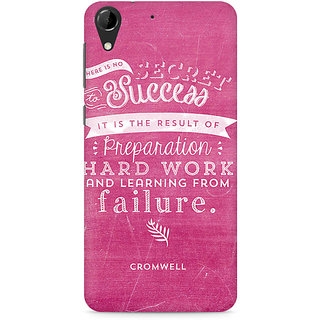 CopyCatz Secret to Success Premium Printed Case For HTC Desire 728