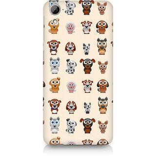 CopyCatz Big Eyes Dog Premium Printed Case For HTC Desire 820