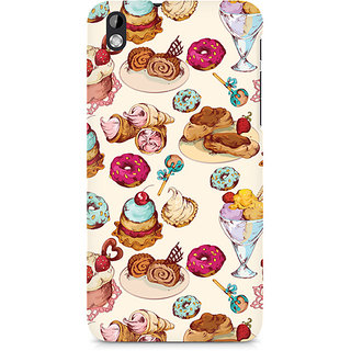 CopyCatz Ice Cream Love Premium Printed Case For HTC Desire 816