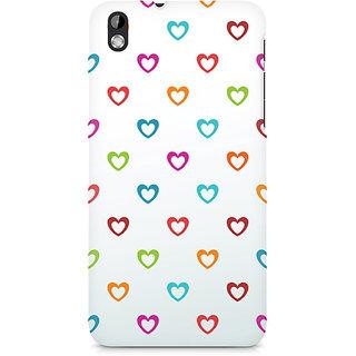 CopyCatz Colors of Love Premium Printed Case For HTC Desire 816