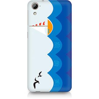 CopyCatz Time and Tide Premium Printed Case For HTC Desire 820