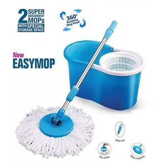 Universal Easy mop 360 Degree Magic Spin Mop For Fast Easy Cleaning Multicolor