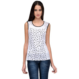 Tunic Nation Women's Poly Crepe Printed Top