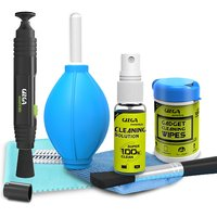 Professional Lens Pen Cleaning Pro System + 6-in-1 Cleaning Kit + Professonal Wipes for Cameras and Sensitive Electronic