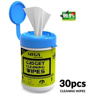 Professional Cleaning Wipes - Non Toxic, Ammonia Free, Pre-Moistened for Mobile Phones, Camera, DSLR, Filters, Lenses