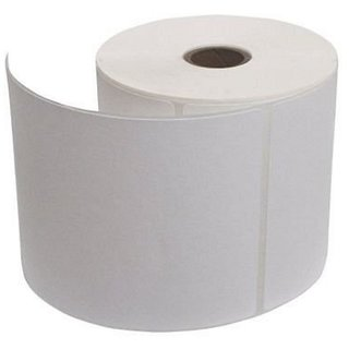 100 x 150 mm, thermal transfer barcode labels, paper white, core size 1  inch, across 1 up, face out, wind up in roll, pe