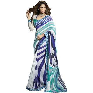 Exclusive Women's party wear saree by Brand Manvaa