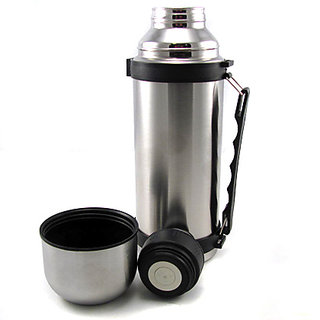 1.2L Capacity Travel Camping Stainless Vacuum Thermos ...