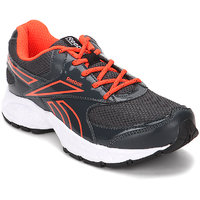 Reebok Women's Gray Lace-up Running Shoes
