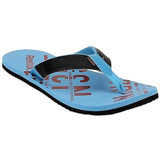 Reebok Men's Blue Flip Flops