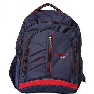 Raeen Plus Blue Back Padding Backpack