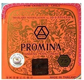 Promina Ginseng Pure Pearl Face Cream Removal Freckle Acne Dark Spot(pack of 3)