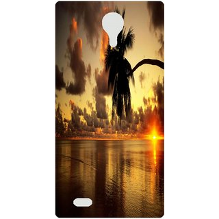 Amagav Back Case Cover for Micromax Canvas Mega Q353