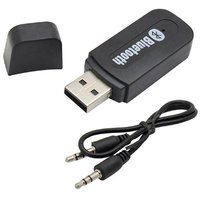 Lionix Bluetooth Receiver without Mic  (Black)