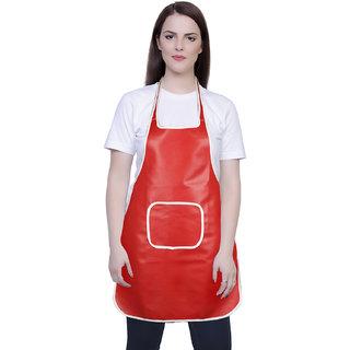 iLiv Kitchen Apron Free size (ap-rx-red-09)