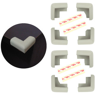 High Quality,High Density, L-Shaped Medium (5.5*5.5*3.2 cm) NBR Corner Cushions-Pack of 8
