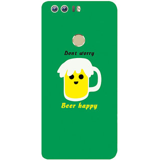 GripIt Beer Happy Printed Case for Huawei Honor 8