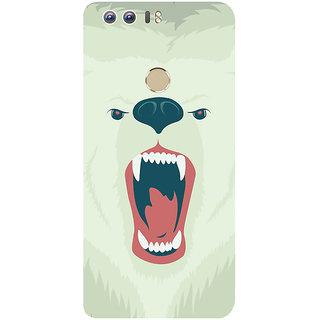 GripIt Polar Bear Printed Case for Huawei Honor 8