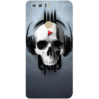 GripIt QAP Music Printed Case for Huawei Honor 8