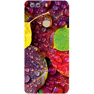 GripIt Rainy Leaves Printed Case for Huawei Honor 8