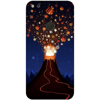 GripIt Volcano of Gifts Printed Case for Google Pixel