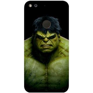 GripIt Hulk Printed Back Cover for Google Pixel