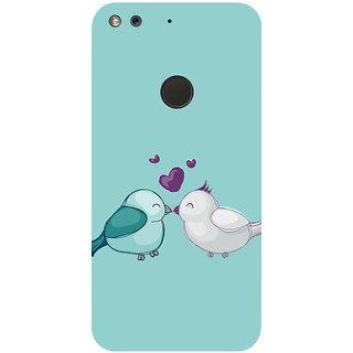GripIt Love Birds Printed Case for Google Pixel