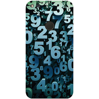 GripIt Mathematics & Digits Printed Case for Google Pixel
