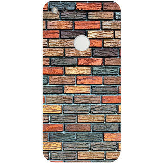 GripIt Brick Wall Printed Back Cover for Google Pixel XL