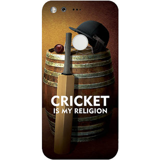 GripIt Cricket My Religion Case for Google Pixel XL