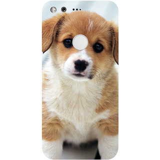 GripIt Cute Puppy Printed Case for Google Pixel XL