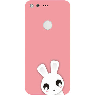 GripIt Cute White Kitty Printed Case for Google Pixel XL