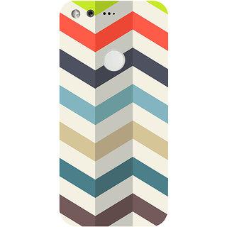 GripIt Zig Zag Printed Case for Google Pixel XL