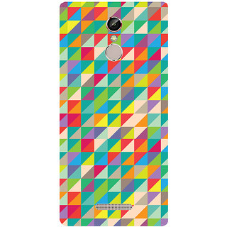 GripIt Art Shatter Printed Case for Gionee S6s