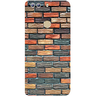 GripIt Brick Wall Printed Back Cover for Huawei Honor 8